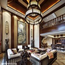 精选别墅客厅东南亚装修实景图片