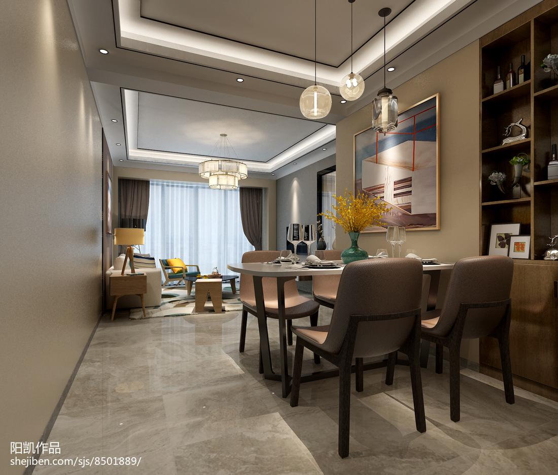 小户型客厅餐厅一体装修