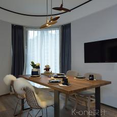 精选大小104平现代三居餐厅装修设计效果图片欣赏