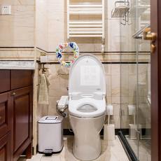 精美三居卫生间美式装修图片