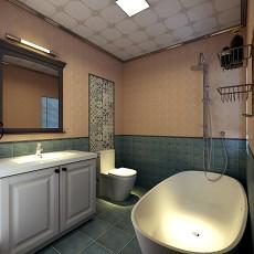 热门东南亚三居卫生间实景图片欣赏