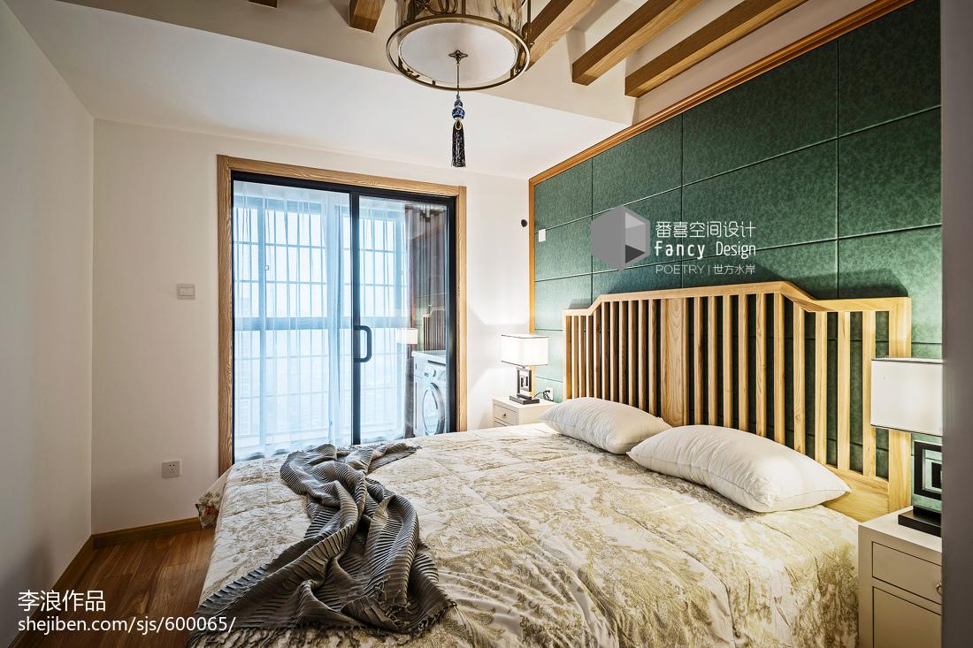 禅意中式次卧设计图