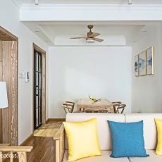 2018精选136平米四居客厅中式装修实景图