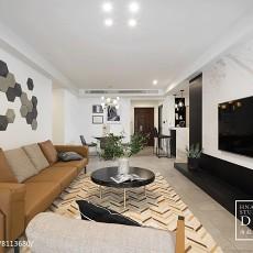 精美大小130平现代四居客厅欣赏图片