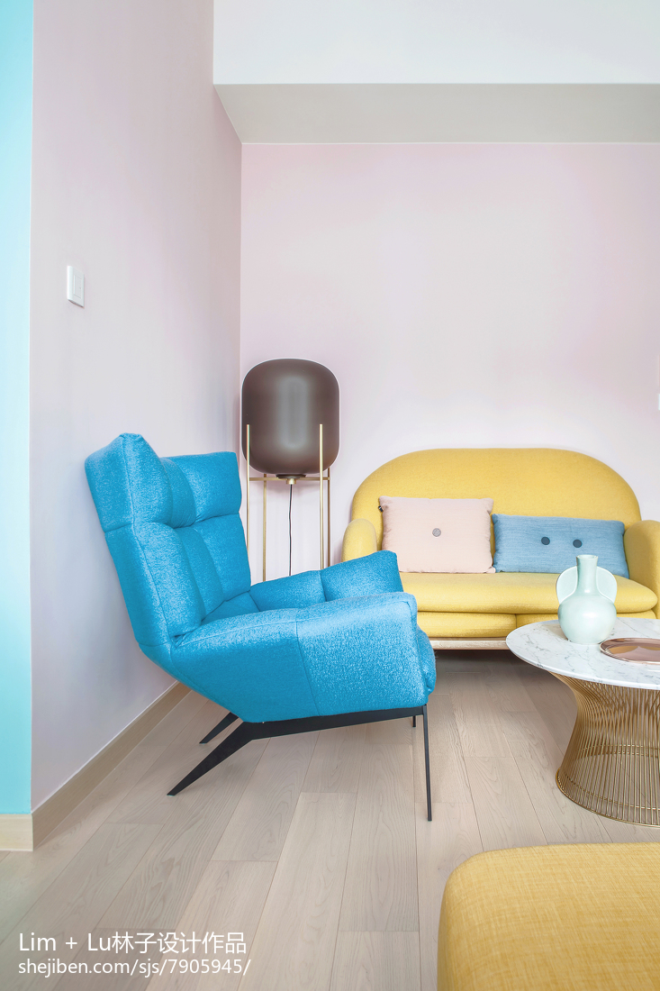 热门87平米现代小户型客厅装修实景图片大全