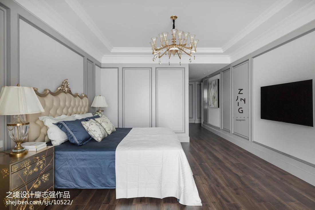119平米四居卧室美式装修图片
