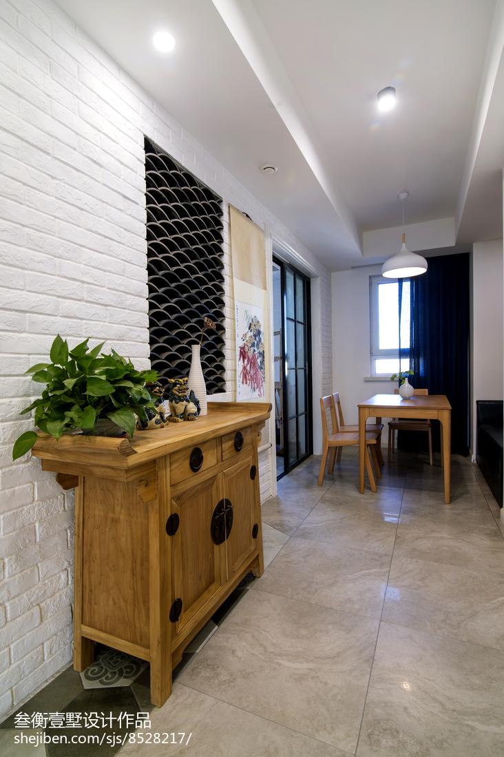 热门134平米混搭复式餐厅装修设计效果图片大全