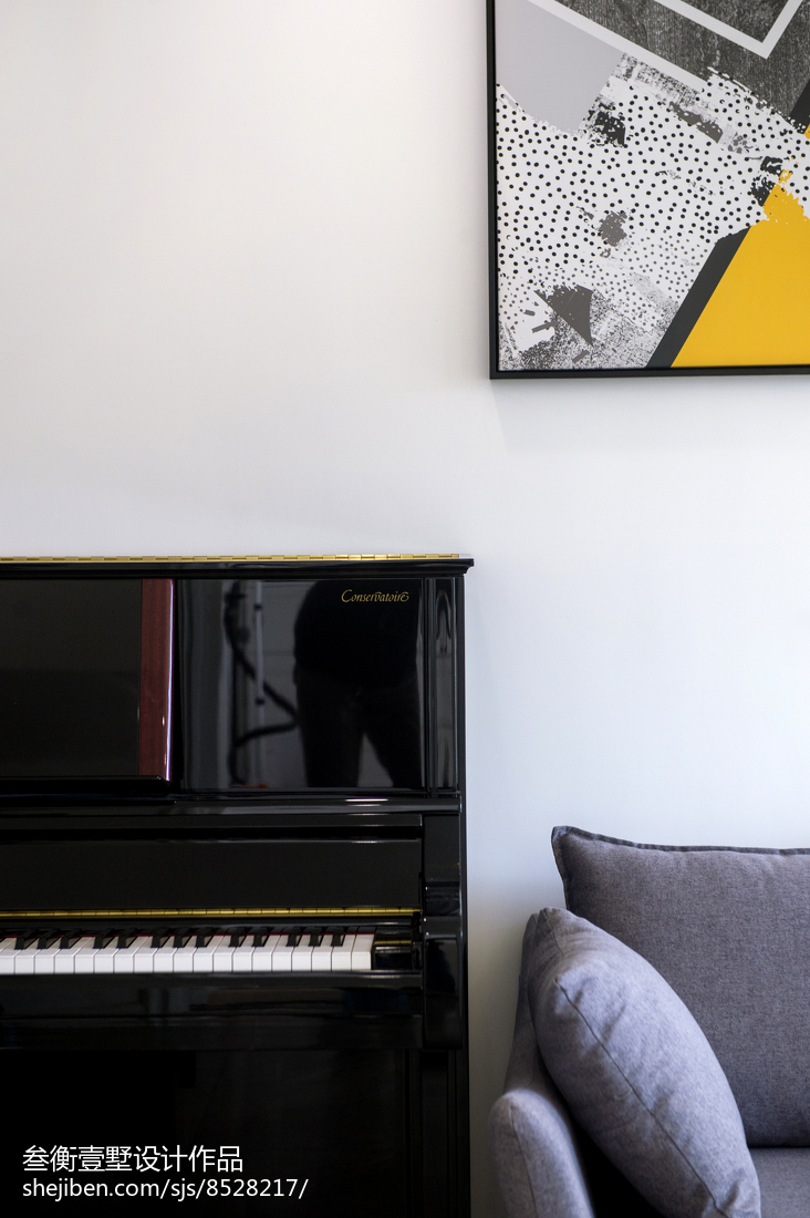 2018116平米混搭复式客厅欣赏图片