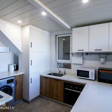 热门混搭复式厨房装修设计效果图