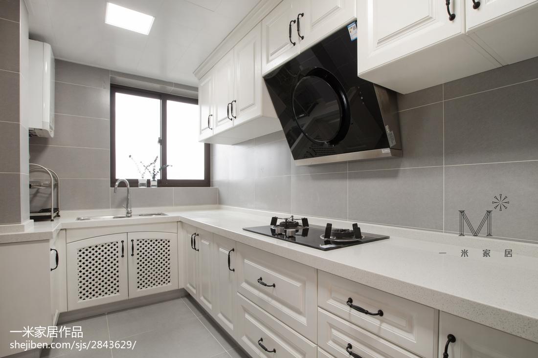 热门82平米二居厨房美式装修设计效果图
