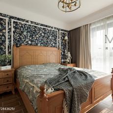精选面积80平美式二居卧室装修效果图片欣赏