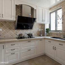 热门80平米二居厨房美式装修图