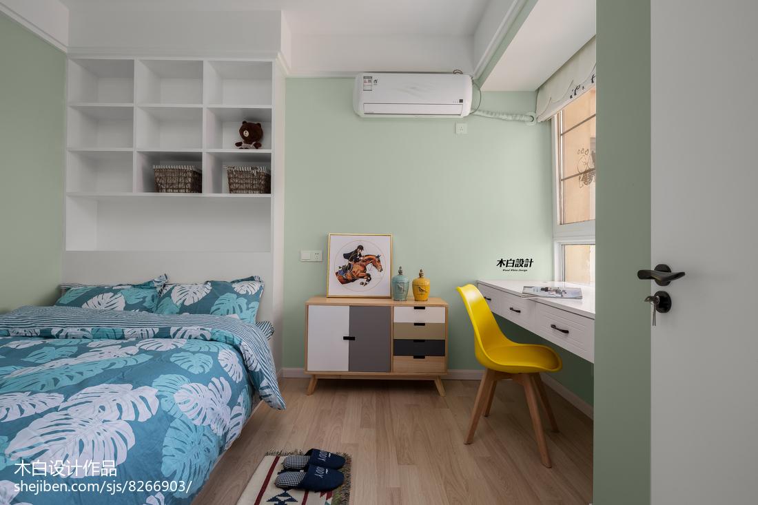 2018精选70平米二居儿童房北欧装修实景图