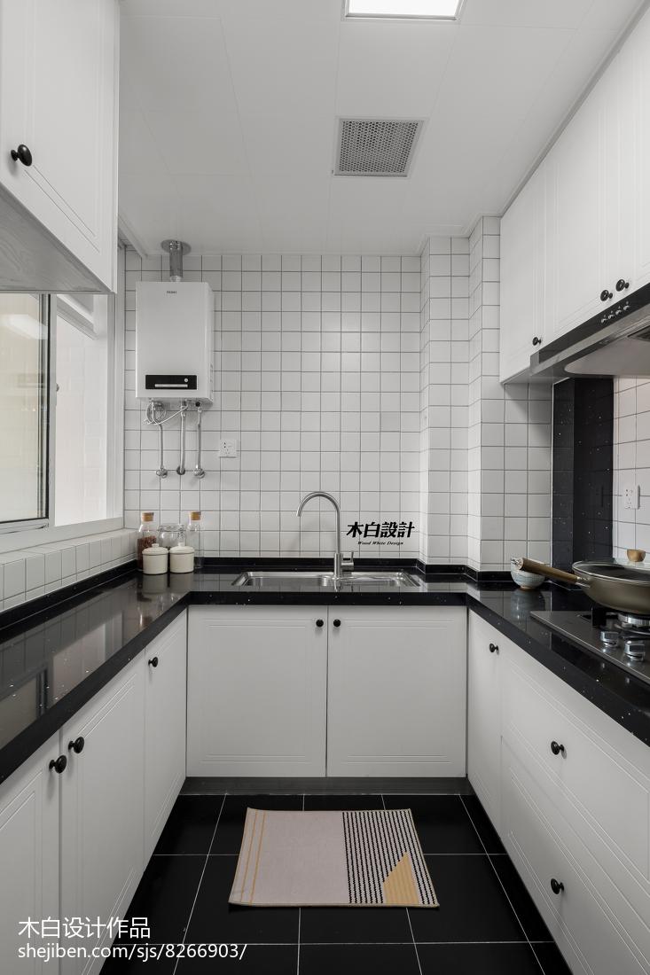 温馨66平北欧二居厨房效果图