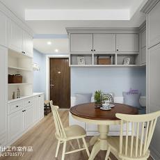 2018精选76平米二居餐厅美式设计效果图