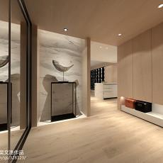 精美面积139平现代四居玄关装修效果图片欣赏