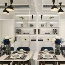 2018精选105平米三居餐厅现代设计效果图