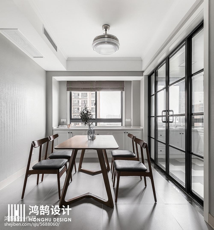 质朴97平现代三居装修美图