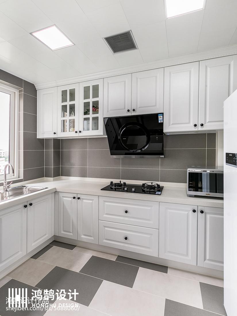 精选面积106平现代三居厨房装修图片大全