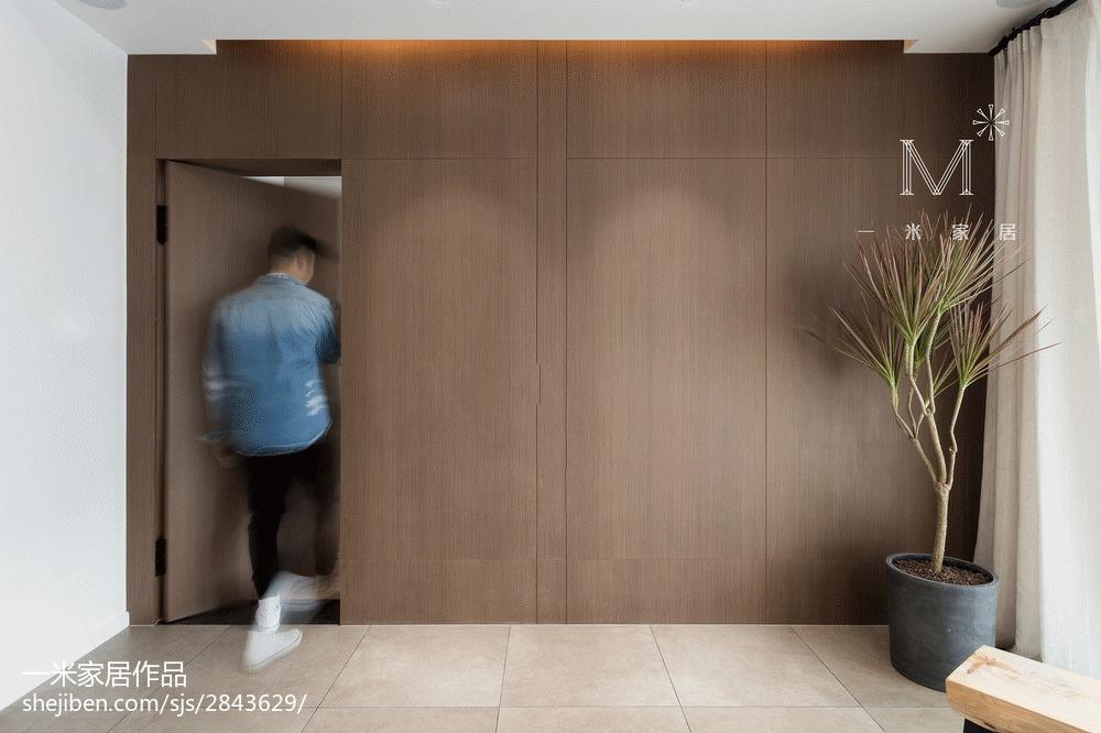 精美84平米二居客厅北欧装饰图