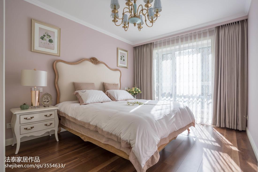 精选美式三居卧室装修图片
