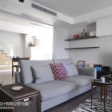 大小92平混搭三居客厅装修欣赏图片大全