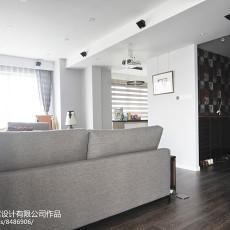 精选94平方三居客厅混搭设计效果图