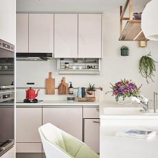 热门面积138平北欧四居厨房装修设计效果图片