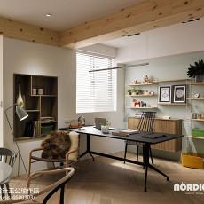 精美72平米二居书房北欧装修欣赏图片大全