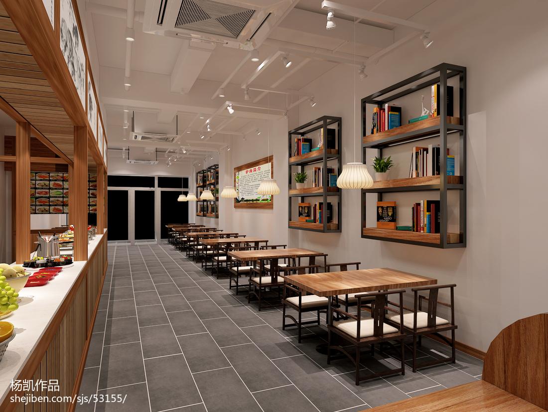 中西合璧混搭餐厅展示