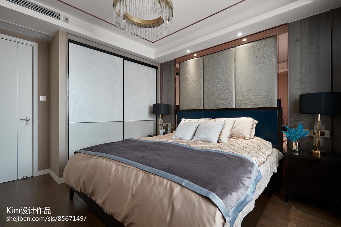 精选四居卧室现代欣赏图