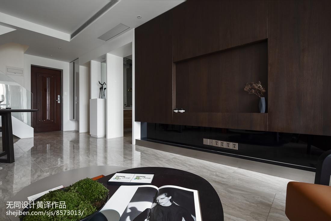 精美面积91平简约三居客厅效果图片欣赏