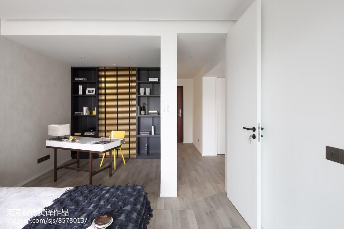 精美101平米三居卧室简约装修设计效果图片欣赏