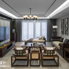 热门91平方三居客厅中式装饰图片