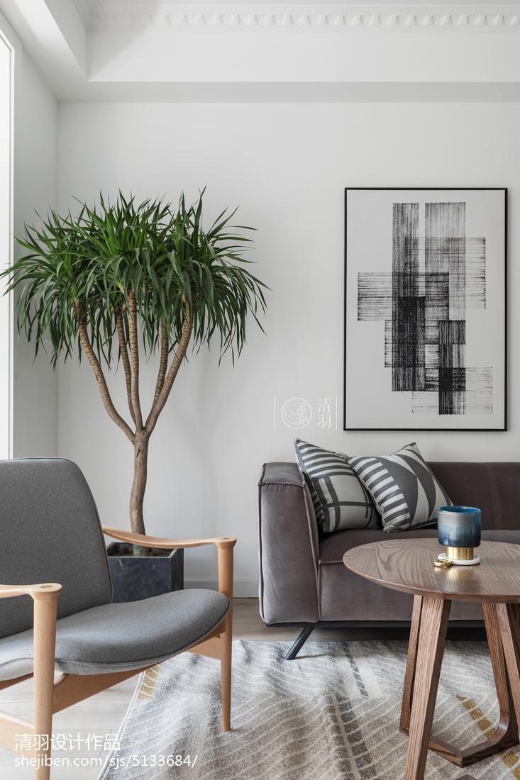 精美面积103平北欧三居客厅装修效果图片大全