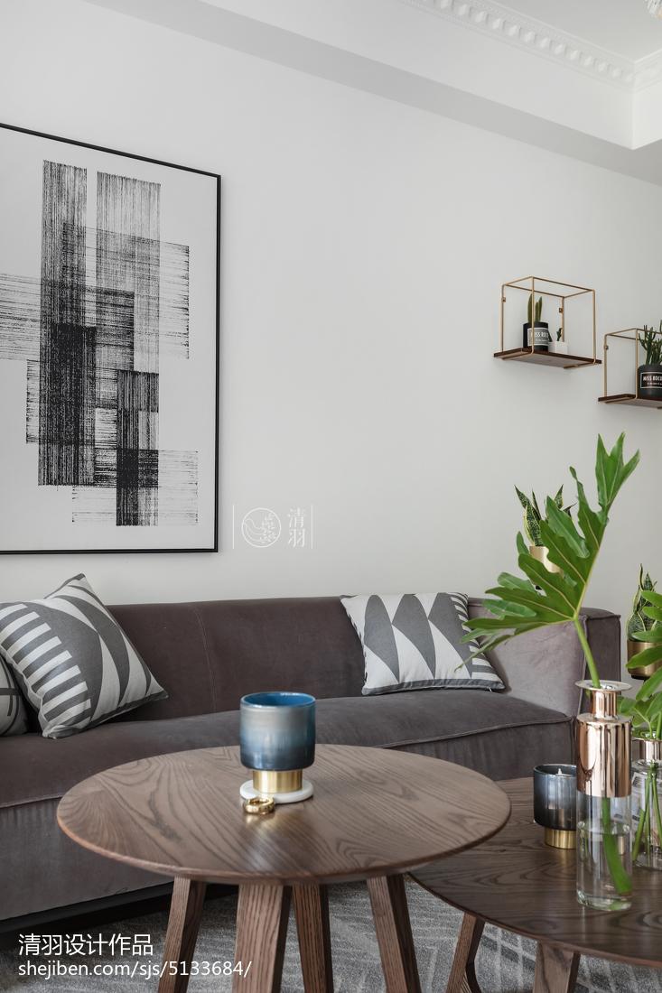 精美三居客厅北欧装修欣赏图片