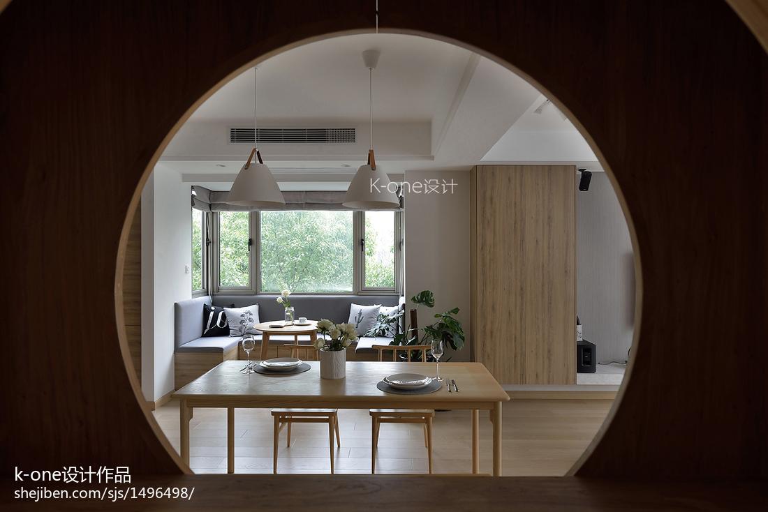 精美143平米日式复式餐厅效果图
