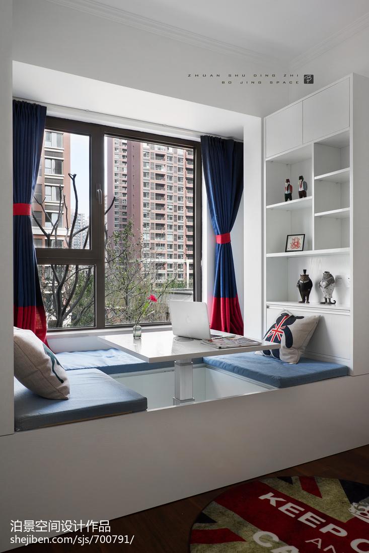 经典美式休闲区设计实景图