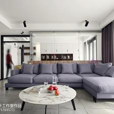 热门面积103平现代三居客厅装修图片大全