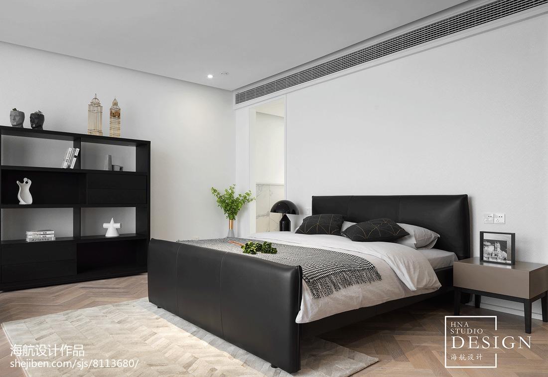 201873平方二居卧室现代装饰图片
