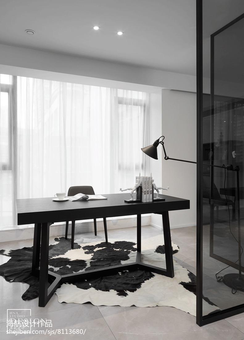 精美现代二居书房装修效果图片欣赏