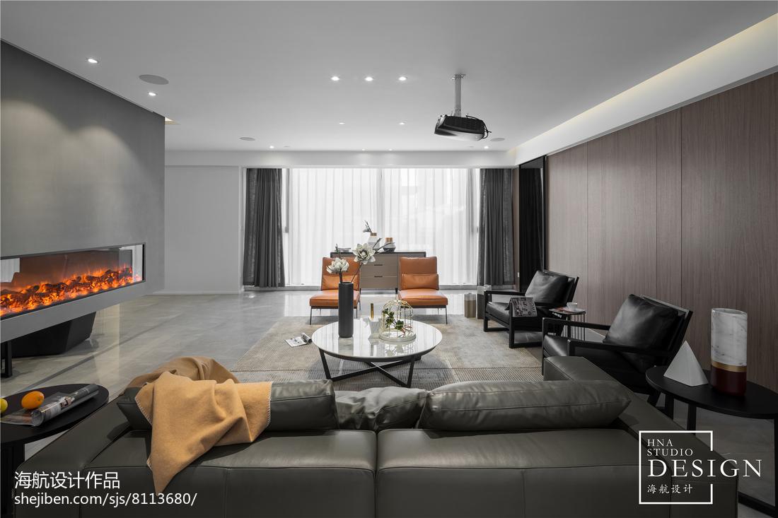 热门87平米二居客厅现代装饰图片欣赏