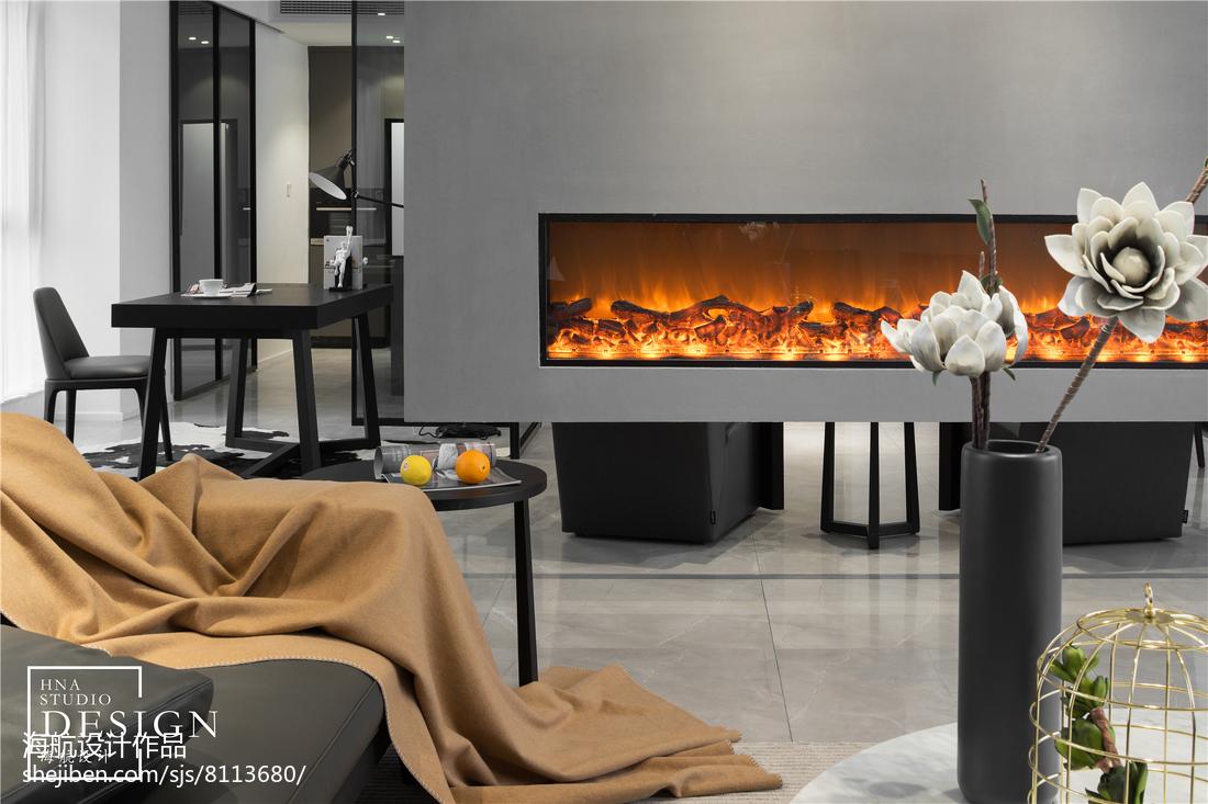 热门88平米二居客厅现代装修欣赏图片大全