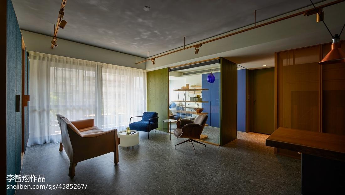 野兽派现代客厅设计图