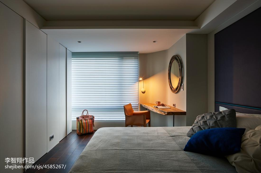 野兽派现代卧室设计图
