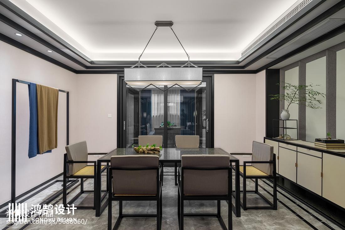 精美中式三居餐厅装修实景图