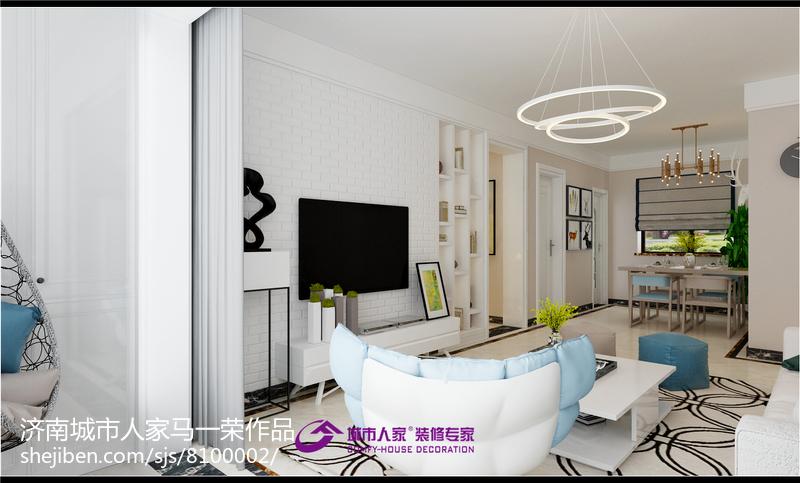 美式现代家居榻榻米室内设计装修效果图