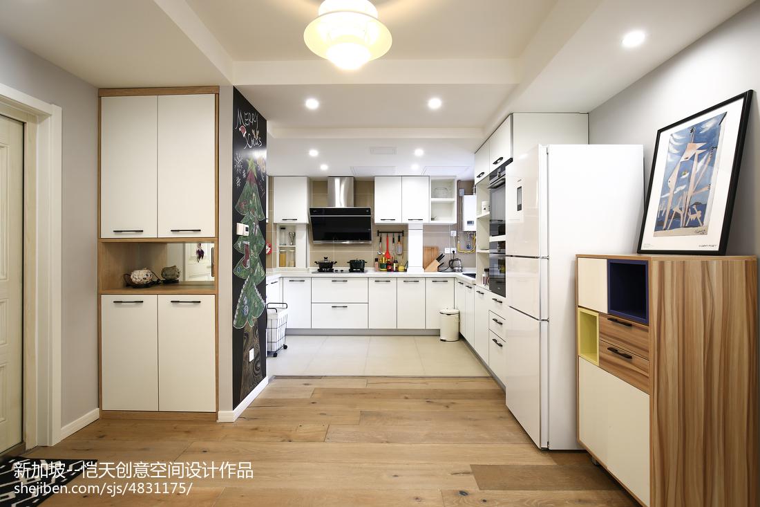 精美现代二居厨房装修欣赏图片