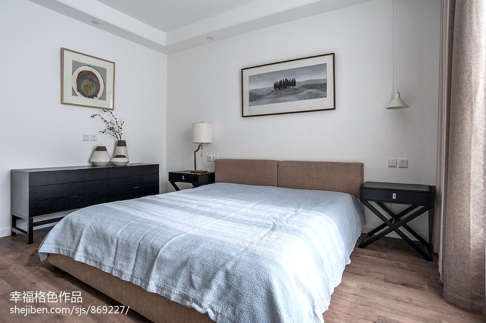 201894平米三居卧室现代装修效果图片