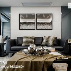 2018精选大小83平现代二居客厅装饰图片欣赏